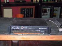 Studiomaster 1500 E Amplifier.
