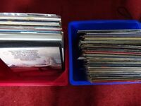 VINYL JOB LOT 116 LP'S (2 BOXES) VARIOUS ARTISTS.