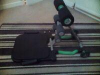 Total Core workout machine
