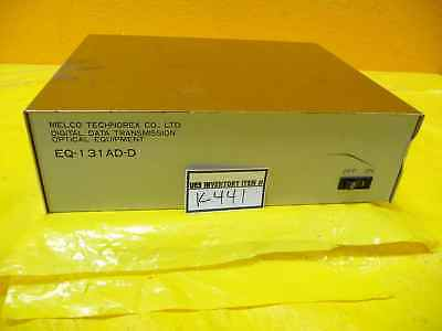 Melco Technorex Eq-131ad-d Optical Digital Data Transmitter Used Working