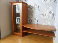 TV Shelves and Display Cabinet