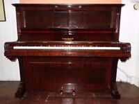 Cramer upright piano, reconditioned with 3-year guarantee