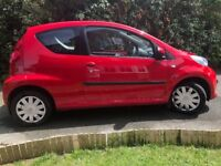 Peugeot 107 urban hatchback Red 998cc
