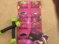Zumba DVD experience - 7 DVDs and exercise sticks