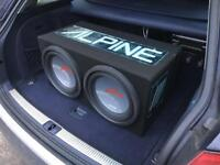 Alpine Type R 12inch sub subwoofer