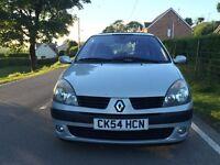 2005 RENAULT CLIO DYNAMIQUE 1.1 MOT LOW MILES FSH