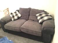 Grey and Black Sofa!!!