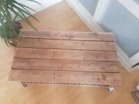 Handmade wooden coffee table £90 OBO