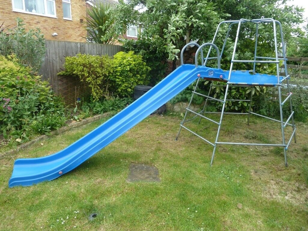 Tp Explorer Climbing Frame With Rapid Slide And Monkey