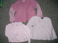 Bundle of 4 Cardigans forGirl 12-18mths old. Gap and F&F. In very good condition.