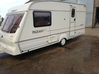 2002 Bailey Pageant 2 Berth caravan. Ideal for a couple starting out. Has everything needed to go