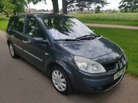 2007 grand scenic 1.5 DCI 1 owner from new 7 seater diesel full service history
