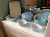 Oven to tableware- Blue