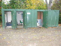 Welfare Unit Site Office portacabin Canteen Toilet Storage workshop Anti Vandal