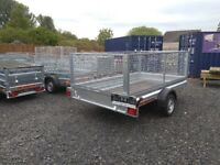 10f tx 5ft CAGE TRAILER MESH TRAILER