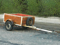 Car Road Trailer for Sale