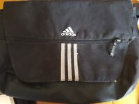 Adidas messenger Laptop Shoulder Bag BLACK used