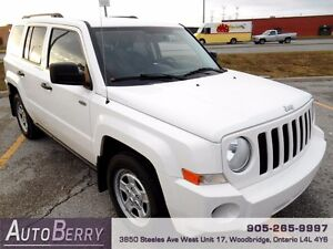2009 Jeep Patriot North 4WD *** Certified and E-Tested ** $6,499
