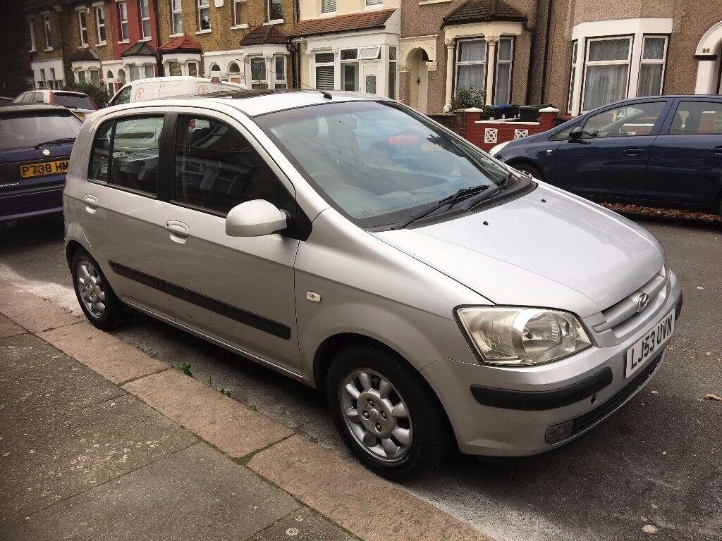 Hyundai Getz | Silver | 2003 | Petrol | 1.3L | 5 Door | Manual | FREE Stereo