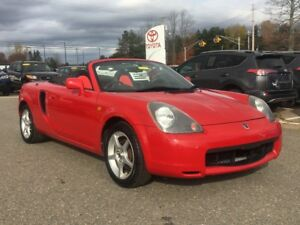 2000 Toyota MR2 Roadster RHD