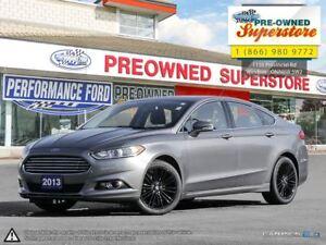 2013 Ford Fusion SE***18 black gloss alloys***