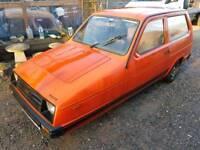 Reliant robin hatchback g reg 1990 mot .drive away