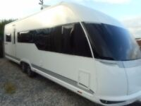 Hobby priemium 700 fixed island bed 6 berth fully loaded mint condition 2013 model can deliver