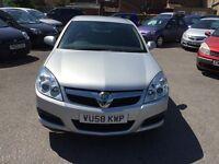 Vauxhall Vectra 1.9 CDTi Exclusiv 5dr2008 (58 reg), Hatchback£1399(30 Days warranty)