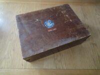 Screen Printing Wooden Box