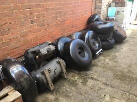Lpg fuel tanks for car van and camper conversions