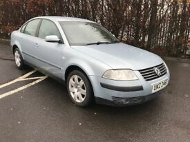 Very high spec 2002 VW Passat 2.0 (petrol) SE Automatic trade in considered, credit cards accepted.