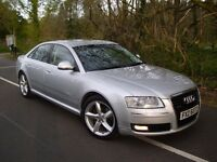 DEC 2009 AUDI A8 QUATTRO SPORT TDI , FULLY LOADED , 1 OWNER , MAY PX NOT S CLASS 730D AMG ML X5 M5