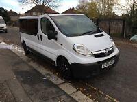 Vauxhall Vivaro 2.0 CDTi 16v 2900 Mini Bus (9 Seats, LWB)