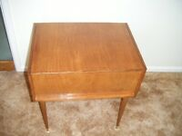 Retro / Vintage / Sewing Box / Side Table