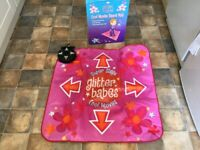 Dance mat glitter babes cool moves brand new and boxed
