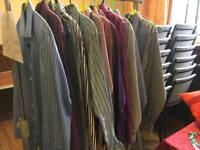 Collection of designer shirts 16 neck and 16 and half