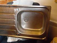 inset Kitchen Sink 1tap hole