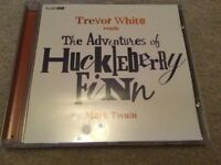 Trevor White reads The Adventures of Huckleberry Finn Audio Go CD By Mark Twain