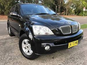 2005 Kia Sorento Auto 4x4 SUV LOW KS Logbooks Long Rego Mags A1 Sutherland Sutherland Area Preview