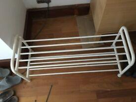 White Ikea Shoe Rack