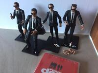 Reservoir Dogs Action Figurines + DVD