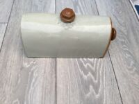 VINTAGE BED WARMER IN STONEWARE REDUCED