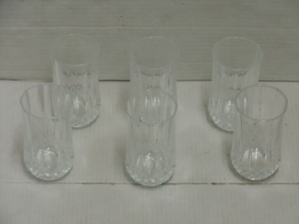CRYSTAL CRISTAL D ARQUES LONGCHAMP FLUTES TUMBLERS ON THE ROCKS WINE GLASSES 20 - $109.99