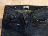 River Island size 10 ankle grazer jeans