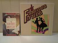 "READERS DIGEST ""THE FABULOUS FIFTIES"" TEN VINYL LP'S BOXSET PLUS BOOK"