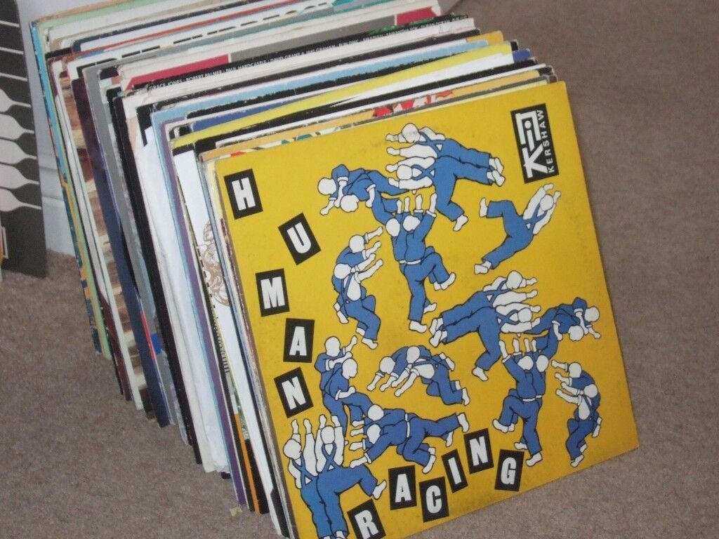 "125 x 12"" 1980's Pop Vinyl Record Collection"