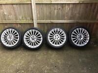 "18"" 5x100 VW / Audi Alloy wheels from Golf"