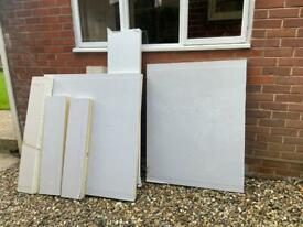 50mm insulated plasterboard