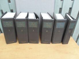 Clarke, Hall and Morrison On Children Issue 86 up to 2013 6 volumes