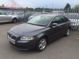 VOLVO S40 2.0 DIESEL 6 SPEED FSH 12 MONTHS MOT LOW MILEAGE WARRANTED ALLOYS CRUISE TOWBAR PX WELCOME